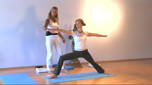 Tempel Yoga 4 grundpositioner